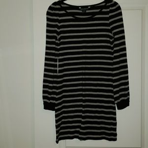 French Connection Black/Gray EUC Dress Size 6